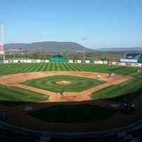 Photo taken at Medlar Field at Lubrano Park by Greg C. on 4/23/2013