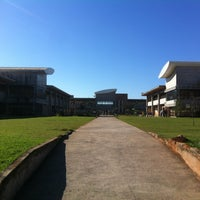 Photo taken at Universidade Federal de São Carlos (UFSCar) by Vinícius C. on 7/4/2013