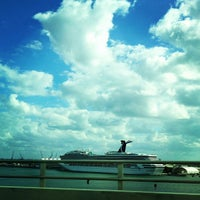 Photo taken at Port Of Miami - Carnival Cruise by Jahanzaib M. on 11/10/2012