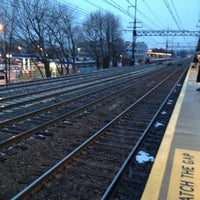 Photo taken at Metro North - East Norwalk Train Station by Chris M. on 2/5/2013
