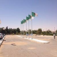Photo taken at Aéroport de Hassi Messaoud (HME) by Dou B. on 8/10/2013