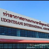 Photo taken at Udon Thani International Airport (UTH) by Zaza B. on 3/13/2013