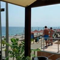 Photo taken at Beach Bar Limra by Fatih K. on 8/12/2016