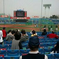Photo taken at Meiji Jingu Stadium by Amanoya on 3/20/2013