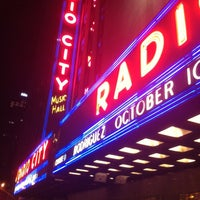 Photo taken at Radio City Music Hall by gerard d. on 4/14/2013