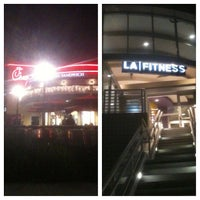 Photo taken at LA Fitness by Charles B. on 12/14/2012