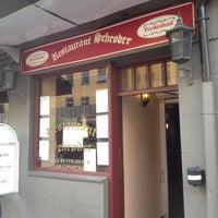 Photo taken at Restaurant Schrøder by Margaret O. on 8/7/2012