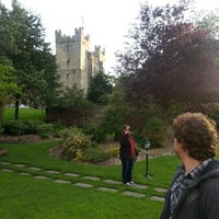 Photo taken at Langley Castle Hotel by Héctor B. on 9/1/2012