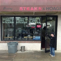 Photo taken at Barry's Steaks by Izzy G. on 2/3/2013