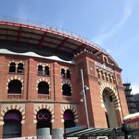 Photo taken at Arenas de Barcelona by Laura E. on 6/23/2013