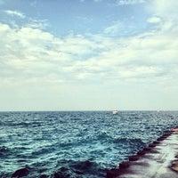 Photo taken at St. Joseph South Pier (at Silver Beach) by Alyssa G. on 9/7/2013