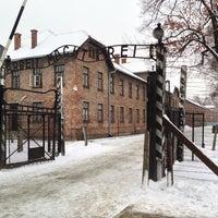 Photo taken at Auschwitz-Birkenau Museum by Akira H. on 2/21/2013
