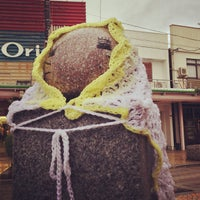 Photo taken at ももねこ様像 by あんこ も. on 12/28/2012