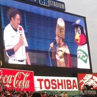 Photo taken at Meiji Jingu Stadium by havetell on 7/14/2013