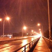 Photo taken at Oak Street Bridge by John R. on 9/21/2013