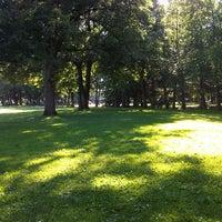 Photo taken at Minoru Park & Oval in Richmond by John R. on 7/3/2013
