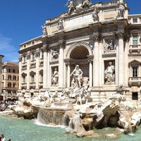 Photo taken at Trevi Fountain by francesco e. on 5/27/2013