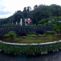 Photo taken at Universitas Pendidikan Indonesia (UPI) by Avif M. on 6/13/2013