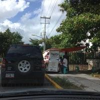 """Photo taken at """"Acapulco"""" Tacos de Canasta by Vero M. on 11/12/2012"""