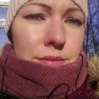Photo taken at Аллея и Памятник by Marina P. on 1/25/2014