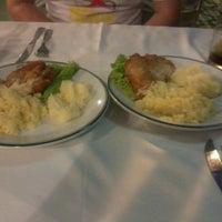 Photo taken at Restaurante e Pizzaria Senzala by Carla F. on 10/16/2012