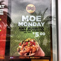 Photo taken at Moe's Southwest Grill by Rachel C. on 10/7/2012