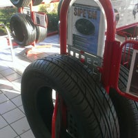 Photo taken at Discount Tire® Store by Heather V. on 10/14/2013