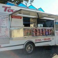 Photo taken at Tacos Garcia by David B. on 10/20/2012