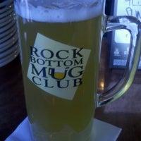 Photo taken at Rock Bottom Brewery by Jeff B. on 10/21/2012