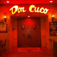 Photo taken at Don Cuco Mexican Restaurant by Corey P. on 4/10/2013