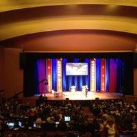 Photo taken at Lisner Auditorium by Brian Q. on 10/7/2012