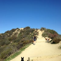 Photo taken at Runyon Canyon Park by jamie l s. on 1/16/2013
