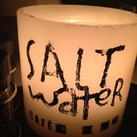 Photo taken at Salt Water Cafe by Amanda F. on 12/15/2012