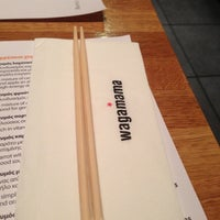 Photo taken at Wagamama by Theodore P. on 12/11/2012