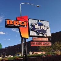 Photo taken at The Blu Pig & Blu Bar by Jeremy K. on 4/21/2013
