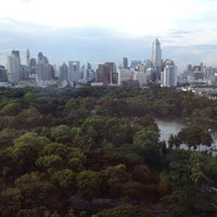 Photo taken at Lumphini Park by Teh K. on 5/12/2013
