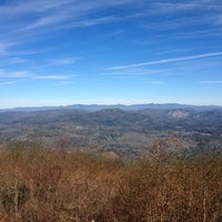 Photo taken at Whiteside Mountain by Miranda P. on 11/30/2013