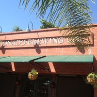 Photo taken at Coronado Brewing Company by Matthew S. on 10/2/2012