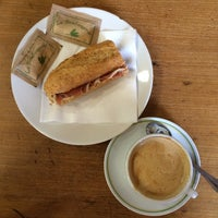 Photo taken at La Boulangerie by Alberto P. on 8/21/2014