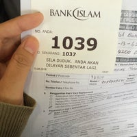 Photo taken at Bank Islam by Fa.Pau on 6/13/2016