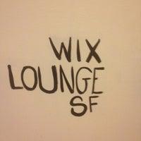 Photo taken at Wix Lounge by Isaiah D. on 10/24/2012