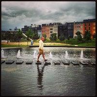Photo taken at Park Spoor Noord by Peter V. on 6/21/2013