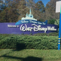 Photo taken at Walt Disney World Entrance by Danny L. on 12/22/2012