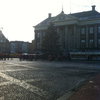 Photo taken at Grote Markt by Robin V. on 12/13/2012