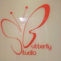 Photo taken at Butterfly Studio Salon by Christine A. on 8/20/2016