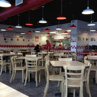 Photo taken at Five Guys by Jonathan H. on 1/14/2013