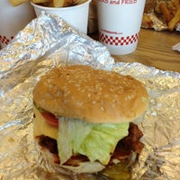 Photo taken at Five Guys by Rick M. on 10/25/2013
