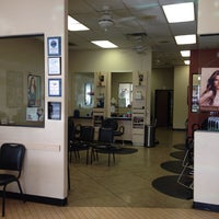 Photo taken at Fantastic Sams Hair Salons by Valarie E. on 10/7/2013
