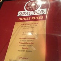 Photo taken at Gladys Knight's Signature Chicken & Waffles by Jabari D. on 4/2/2013