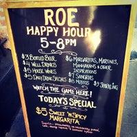 Photo taken at Roe Nightclub & Lounge by Jeff Y. on 8/31/2013